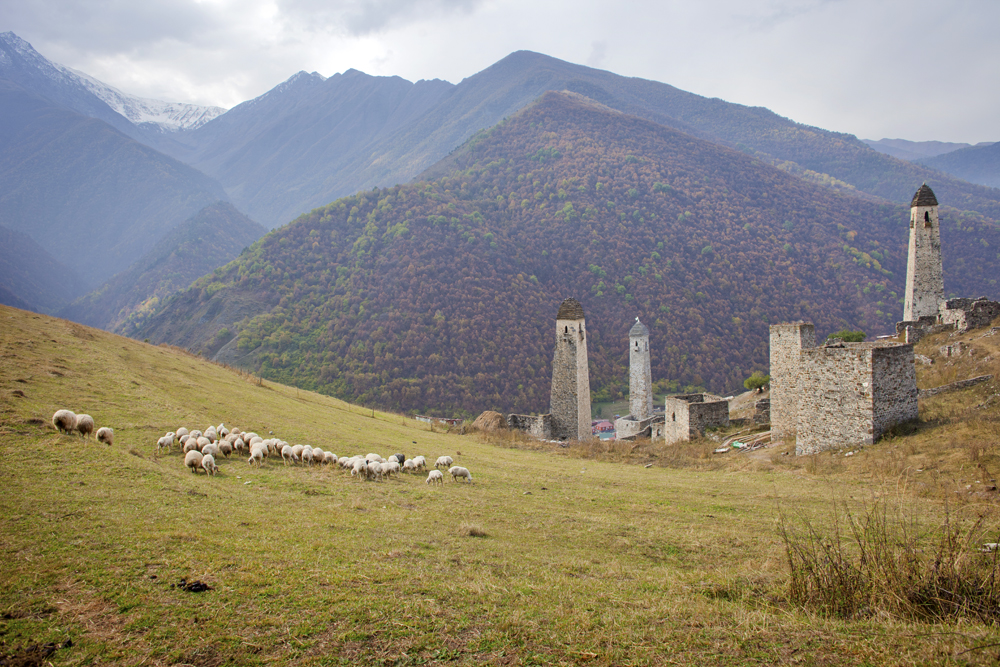 Ingushetia boasts natural attractions and ancient monuments, fabulous landscapes and mineral springs.