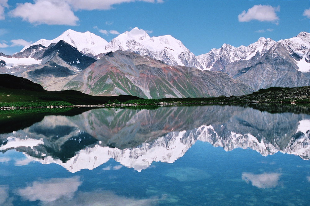 BELUKHA MOUNTAIN. This mountain is in the Ust-Koksinsky region of the Altai Mountains, and is the highest point in Siberia at an altitude of 4.5 km. The locals revere Belukha as a sacred mountain.