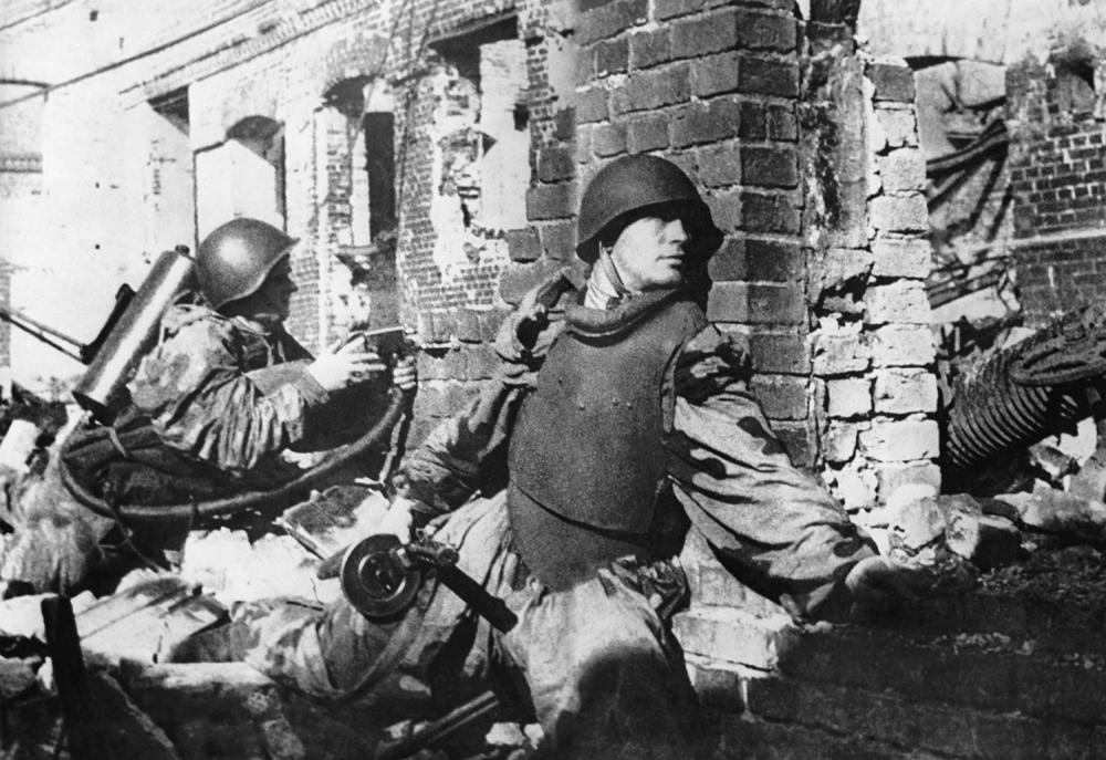 The Stalingrad battle lasted 200 days. Historians say that it was the most large-scale bloodshed in history.