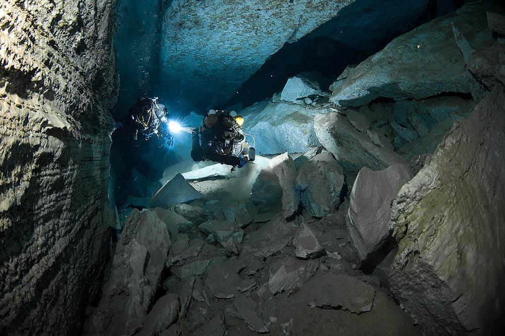 Because of the potential dangers and difficulties, cave-diving is quite an elite sport.