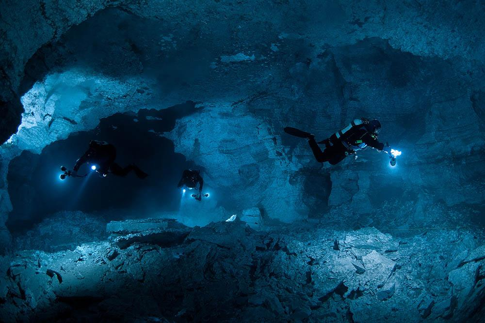 So far, touch wood, the cave's labyrinth has not claimed any victims and all divers have returned home. This is perhaps proof of their high level of training.