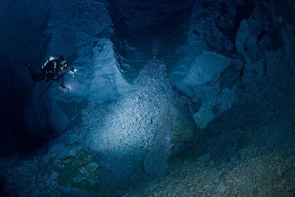 The opening of Orda Cave to divers has stimulated underwater speleology throughout the Perm region.