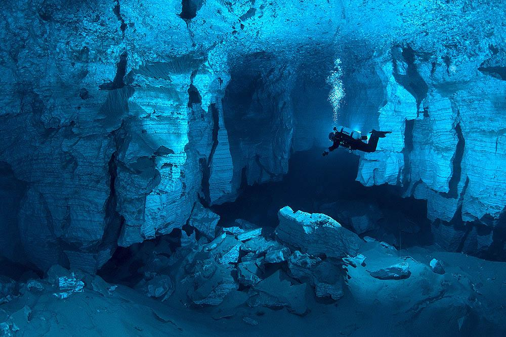 Exploration of Orda Cave began back in 1992 by a group of enthusiastic cavers.