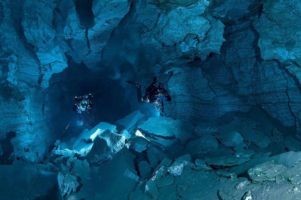 The cave has not been fully explored, and you can always find a place where no one else has been.