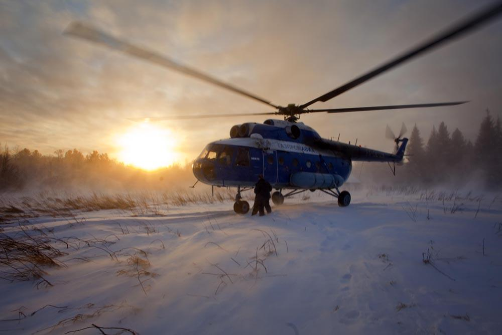 Throughout the course of winter operations, helicopters face a significant hazard associated with takeoffs, landings and hovering when the ground is covered with fresh or light snow.