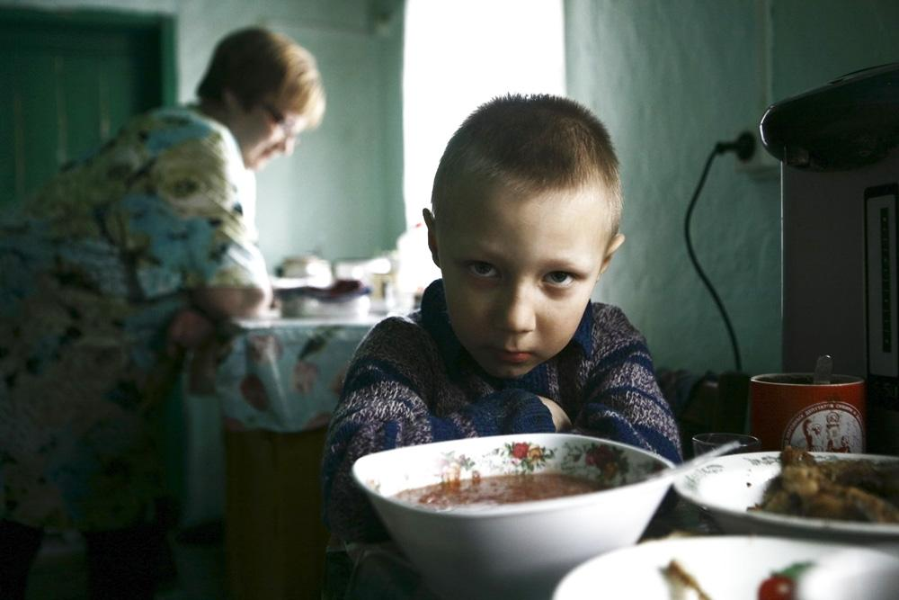 Vova, an orphan who lives with a foster family. Grazhdantzevo Village, Novosibirsk region, 2011
