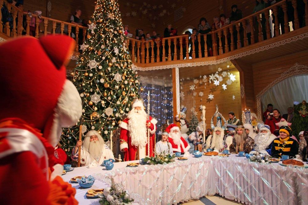 "The literal translation of Ded Moroz would be ""Grandpa Frost"", although the name is often translated as ""Father Frost"". Ded Moroz is said to bring presents to children, however, unlike the secretive Santa Claus, the gifts are often delivered in person."
