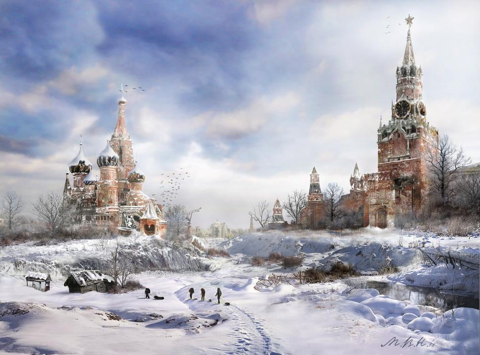 A talented designer from Moscow Vladimir Manjukhin is widely know among Russian 2D/3D computer graphic artists by the nickname mvn78.