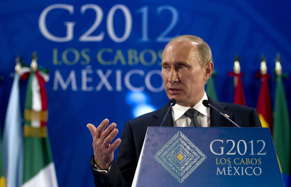 2012年12月1日//ロシアがG20の議長国に//12月1日より、ロシアは世界の主要経済大国のグループ、G20の議長を初めて務めることになった。