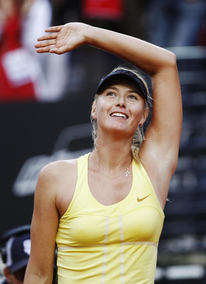 Cette même année, Maria Sharapova était en tête du classement WTA (Women's Tennis Association) et est devenue la deuxième raquette du monde !