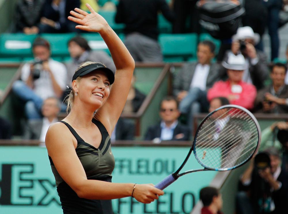 En 2005, Forbes classait Maria Sharapova parmi les « 100 personnalités les plus influentes au monde », la joueuse de tennis étant alors la seule femme russe du classement.