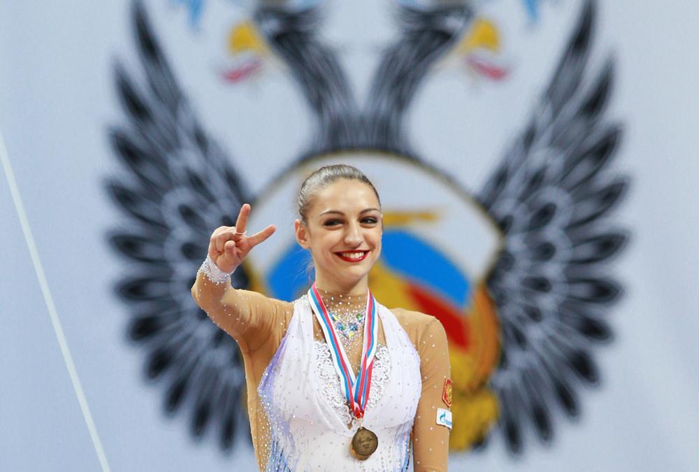 La ginnasta russa Evgenia Kanaeva, due volte campionessa olimpica di ginnastica ritmica, è nata il 2 aprile 1990 nella città di Omsk, nella Siberia Occidentale