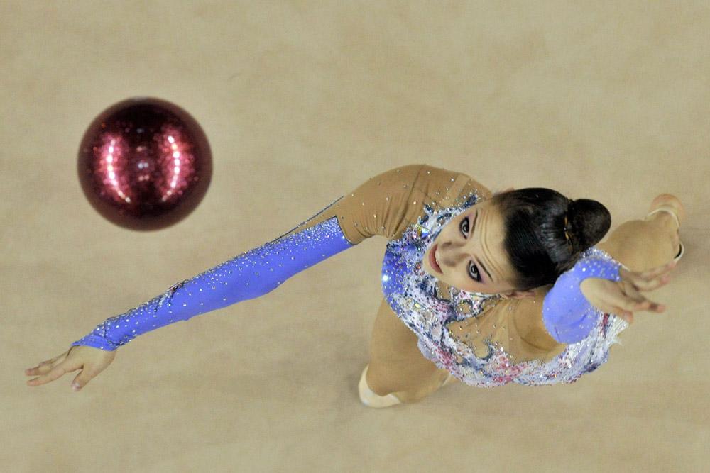 Evgenia Kanaeva è la prima campionessa nella storia della ginnastica ritmica vincitrice di due titoli olimpici in tutti e cinque gli attrezzi