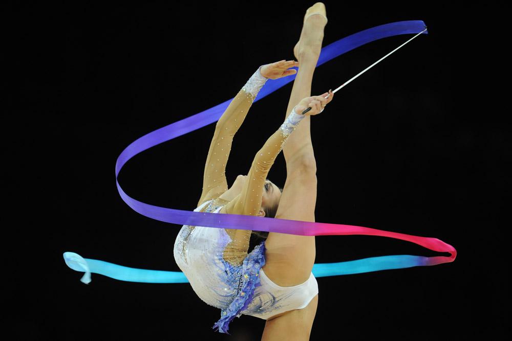 """Alle Olimpiadi di Pechino nel 2008 uno degli esercizi nella gara della ginnasta viene eseguito con l'accompagnamento della versione originale di """"Mezzanotte a Mosca"""""""