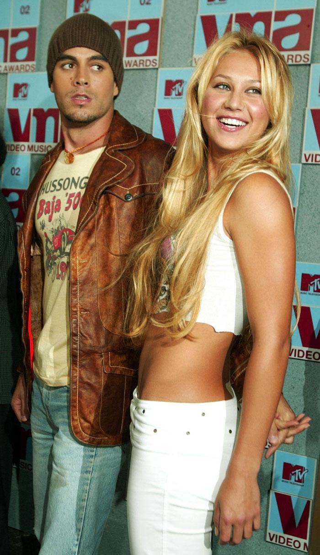 Desde 2003 Anna mantiene una relación con Enrique Iglesias