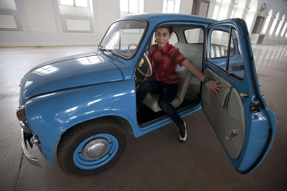 ZAZ Zaporozhets was a series of subcompact cars designed and built from 1958 at the ZAZ factory in Soviet Ukraine . Different types of Zaporozhets were produced until 1994. The name Zaporozhets means a Cossack of the Zaporizhian region.