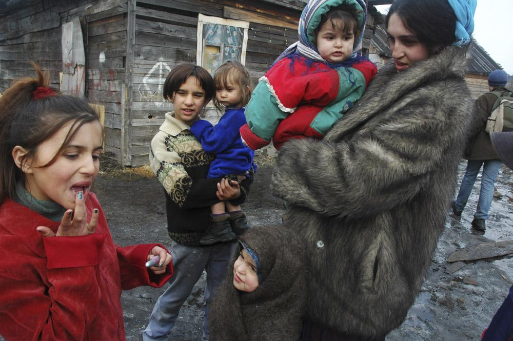 The openness and hospitality of the young housewives is striking. With small children in their arms, they kindly open the doors to their homes. Here, smiles are more common than frowns, although their domestic problems are far worse than those of their Russian neighbors.
