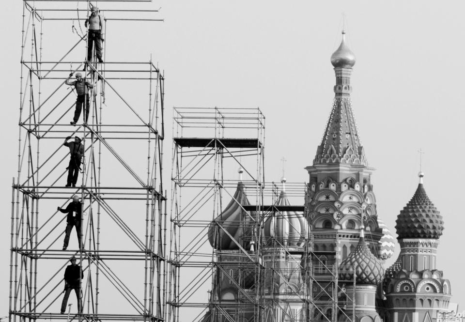 """The team of five"", Moscow"