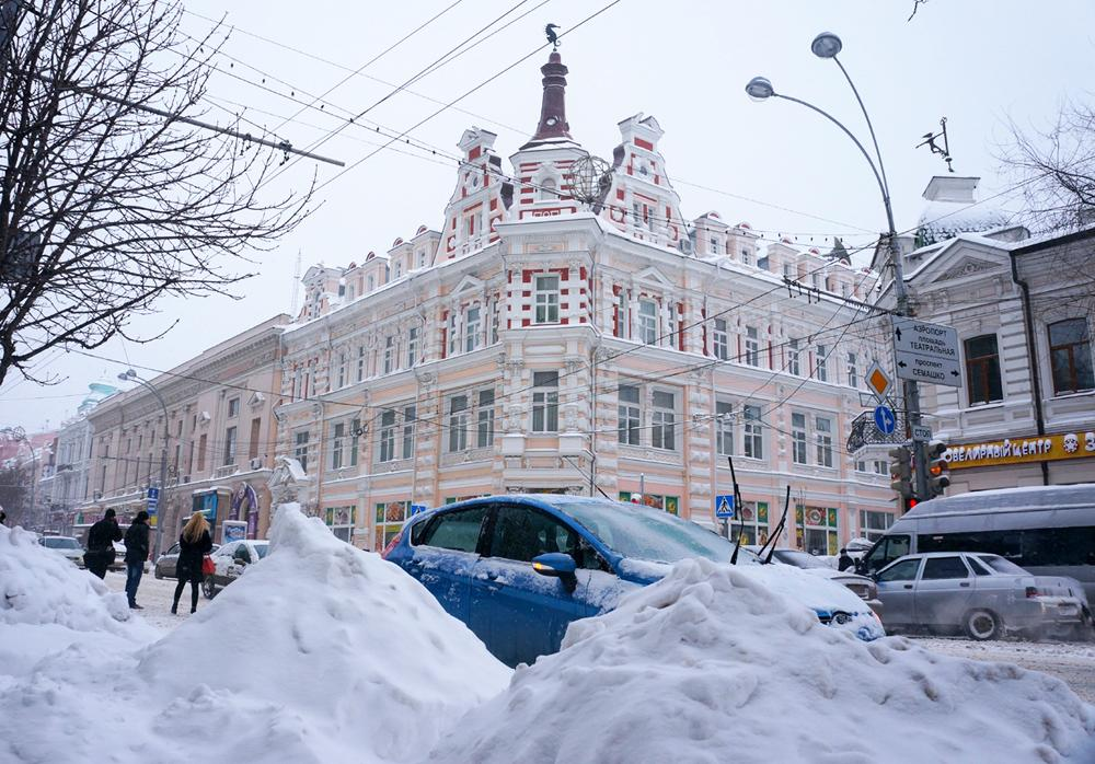 Rostov-on-Don considered being a Southern city with a good climate, but not this March. Usually, March is characterized here by rapidly rising daily high temperatures, exceeding 65 F (18 C).