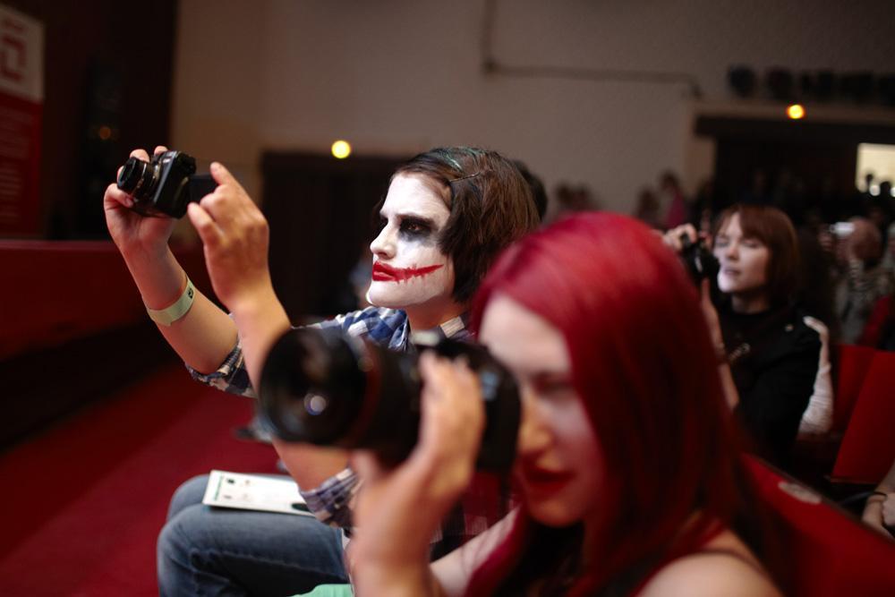 """Le 28 avril 2013, le festival du cosplay """"Hinodé"""" (""""Lever du soleil"""" en japonais) s'est déroulé à Moscou."""