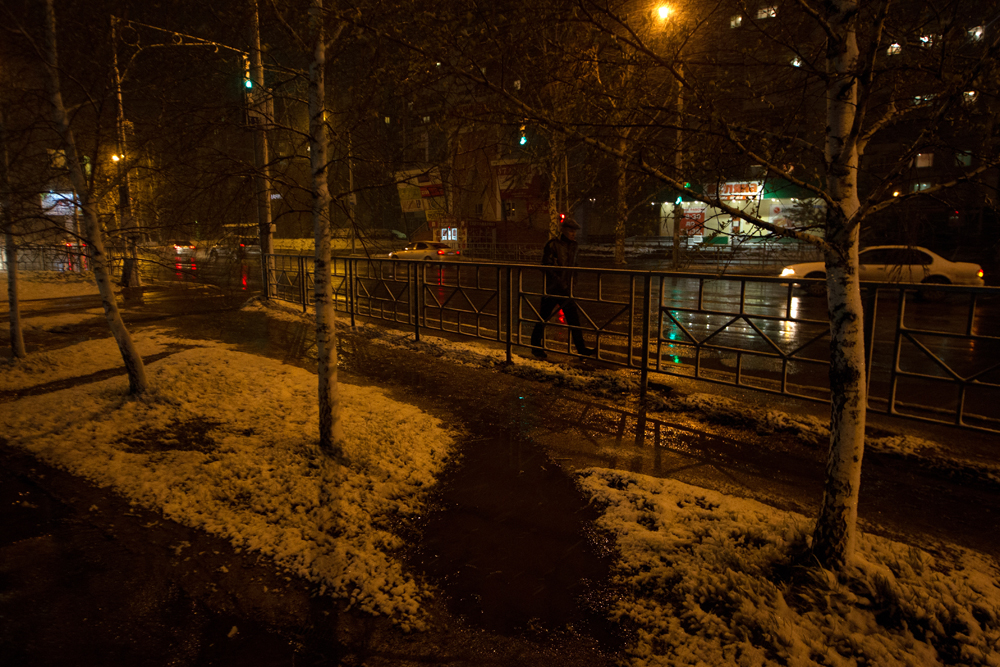 Though it wasn't a total surprise for people who live in Tomsk, because according to meteorologists, wet snow in May is a frequent occurrence in this region.