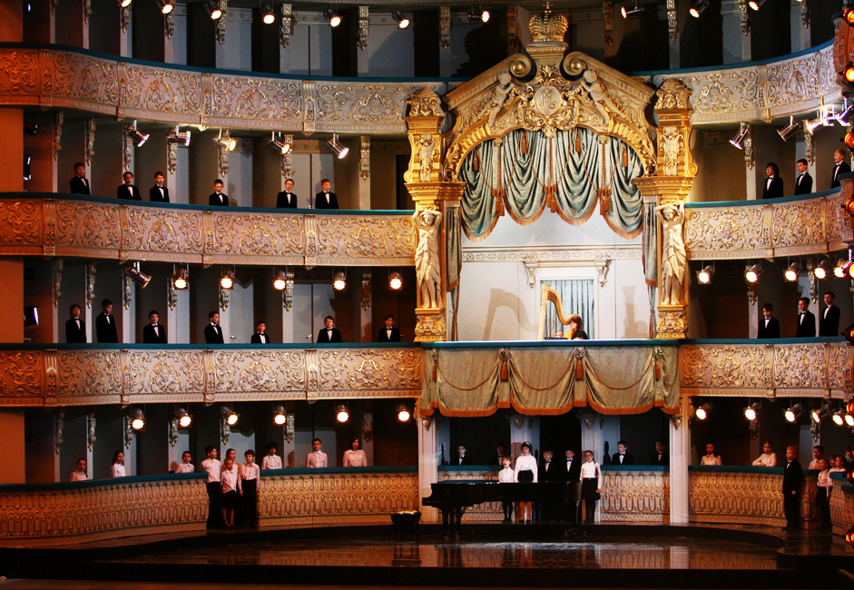 The new theater can stage three performances daily and will have much less downtime between major productions. It is all part of Gergiev's plans to make St. Petersburg a major international center for the arts, and a draw for traveling groups from major foreign theaters.