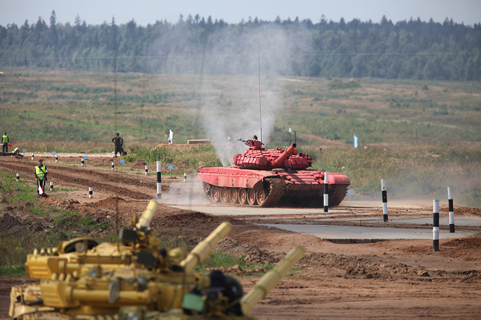 The competitions were dedicated to the largest tank battle in military history that took place near Prokhorovka, the legendary and victorious battle for the Soviet army at the Kursk Bend.