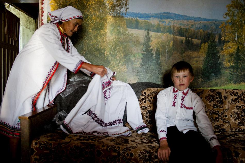 The Mari people are one of the oldest ethnic groups living in the Russian Federation. Finno-Ugric peoples settled the territory in what is now European Russia dating back to prehistoric times. Archaeological sources from the first millennium B.C.E. have been preserved in the republic.