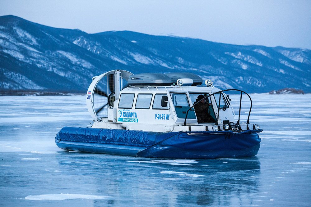 Everyone should visit the Baikal – it is awfully beautiful, and not just once, but at different times of the year. For example, in winter, you can get a thrill from riding a car on a frozen lake. It's just great.