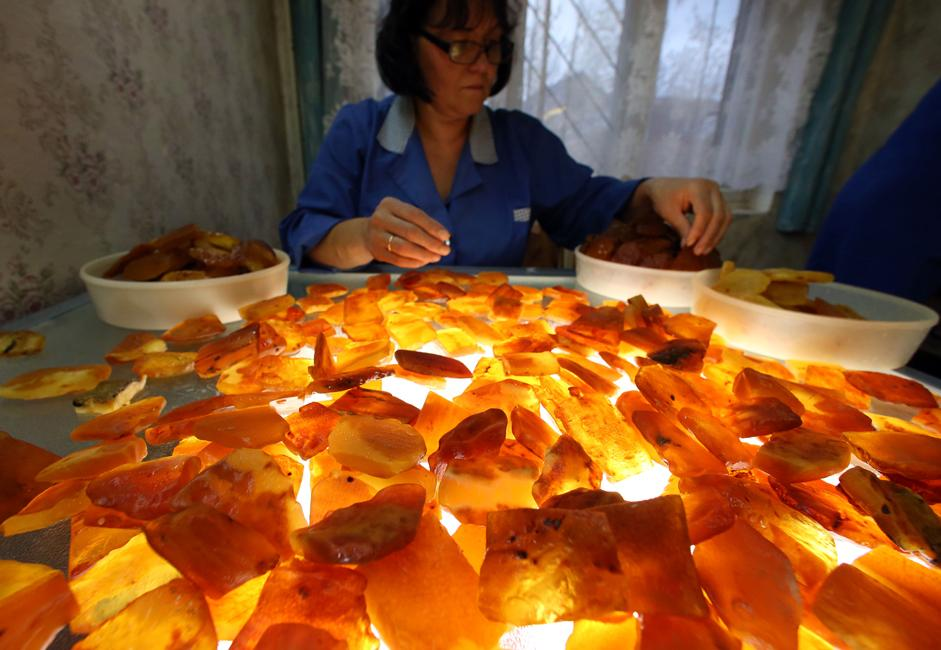 The Kaliningrad Amber Factory is the only company in the world currently that conducts industrial amber mining.
