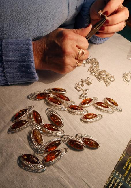 "Amber is primarily used to make jewelry and medicines. It also has more poetic monikers such as ""tears of the sea"" and ""gift from the sun"", among others."
