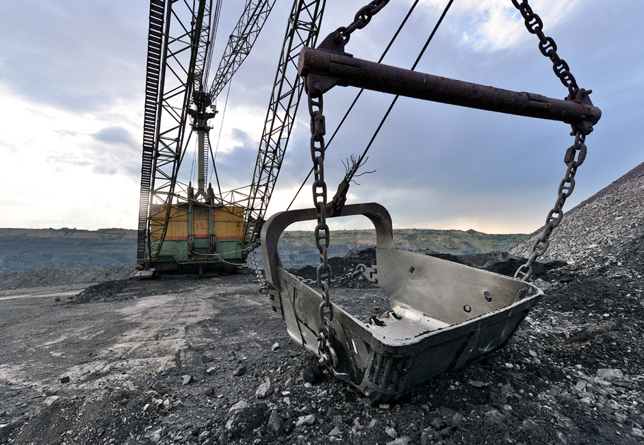 The Kuzbass' oldest coal is estimated to be approximately 350 million years old.