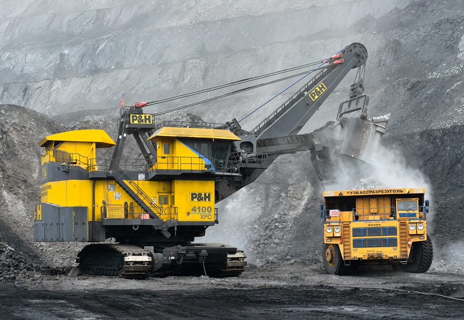 The BelAZ-75600 can transport up to three railroad cars of rock, dirt, and silt in one trip.