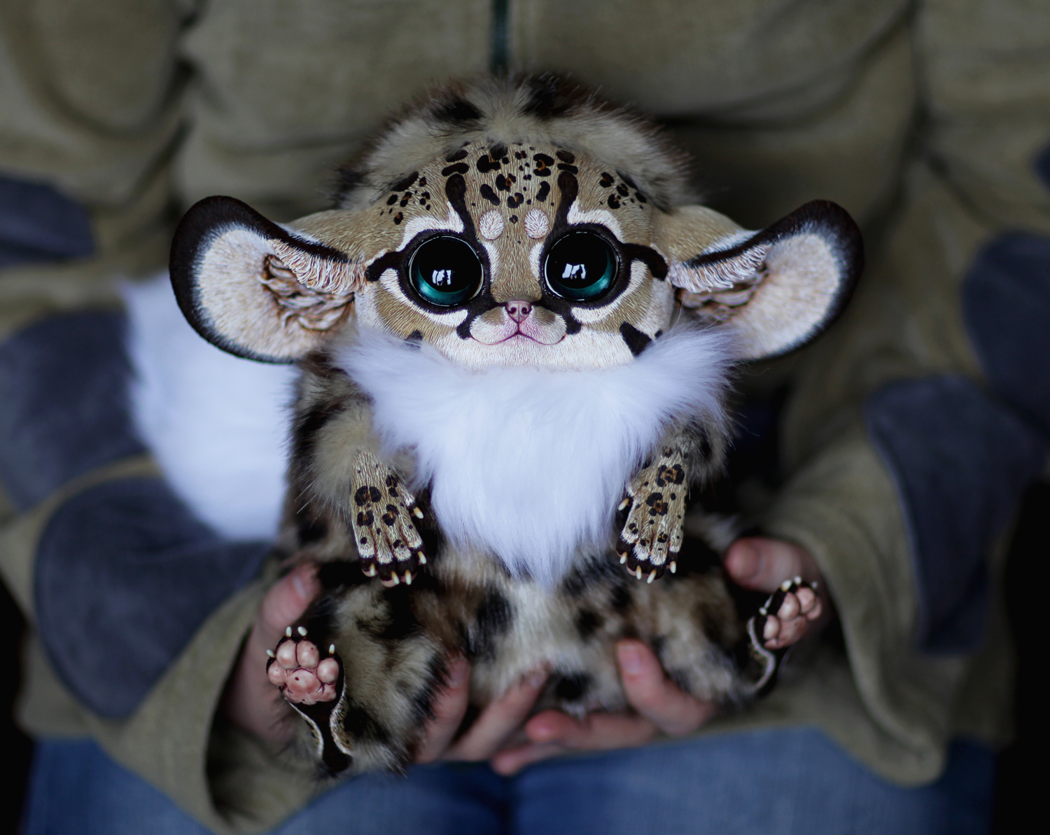 """""""I've been making puppets for about 7 years,"""" she says. Maria also paints (graphics, watercolors), and is interested in terraria, zoology, ornithology, the history of art, mythology, fairy tales from different countries, and Japanese art and animation."""