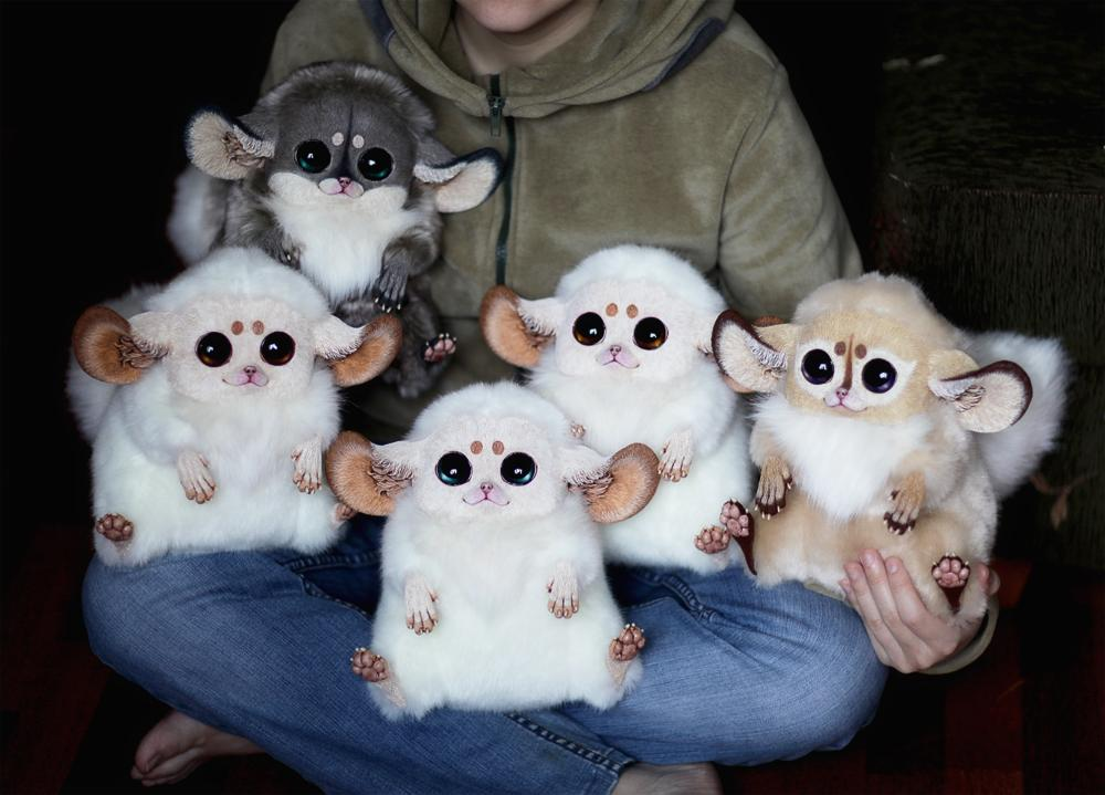 """""""I was 14 years old, and my first handmade articles were small figurines 8-10 inches high, depicting various animals or fairy-tale characters. Since then, I've devoted most of my time to making dolls, toys, and statuettes."""""""
