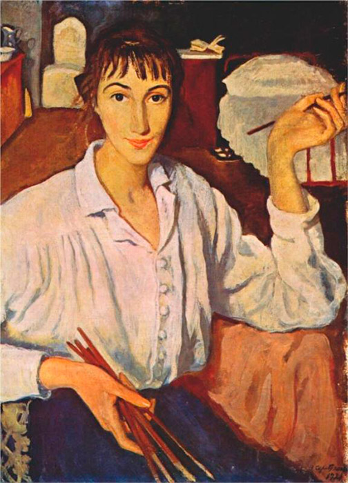 In honor of the 130th anniversary of the birth of Russian artist Zinaida Serebryakova (December 12, 1884), the Tretyakov Gallery in Moscow is hosting an exhibition of the Paris period of her work. Many of the exhibits are on display in Russia for the first time. Also on show are pictures by her children Alexander and Yekaterina. The exhibition will run till March 30. \ Self-portrait, 1921