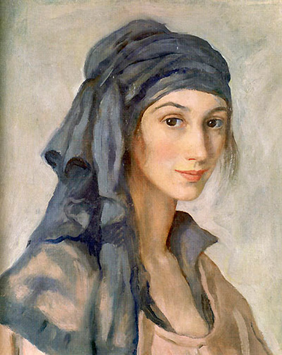 It was only in 1927 that Serebryakova's first solo exhibition was held. She sent the proceeds to her mother and children in Russia. 1965 saw an exhibition of her work in Moscow, two years after which the artist died in Paris. \ Self-portrait, year unknown