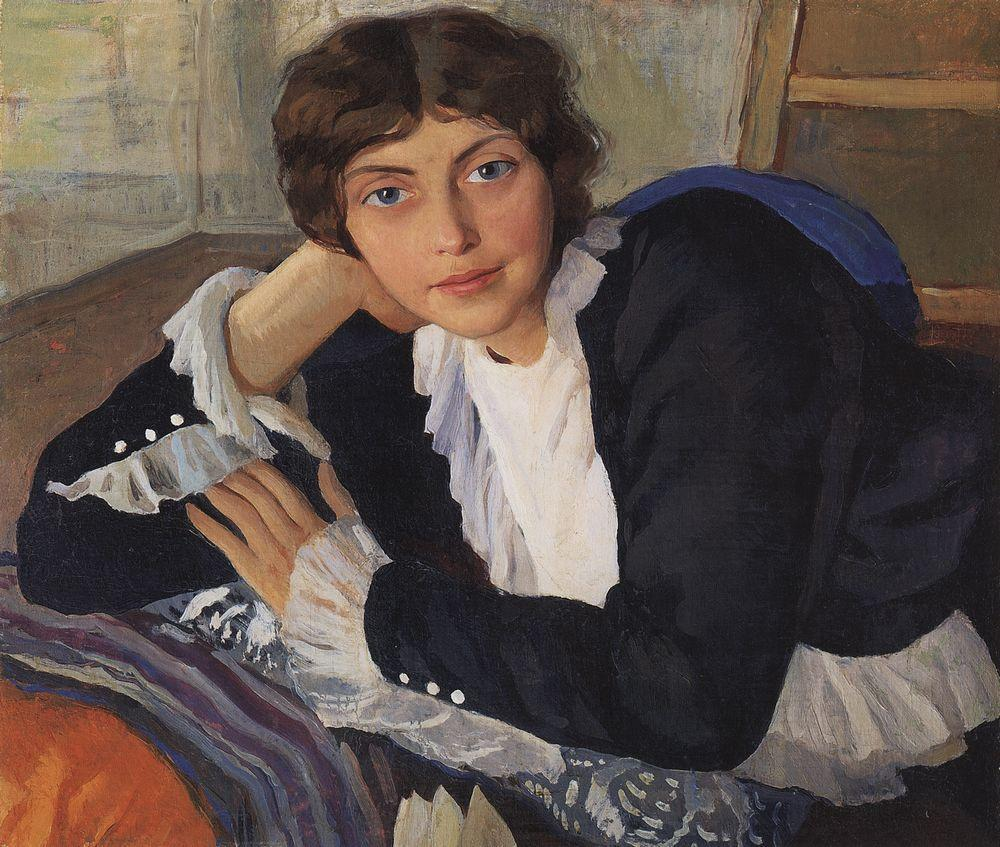 A year later, the couple returned home to Neskuchnoe. Zinaida work intensely, creating sketches, portraits, and landscapes. Her first works already offer a glimpse of her own unique style and range of interests. Her first real success came in 1910, when Zinaida Serebryakova was 26 years old. \ Portret of artist Lola Braz, 1910