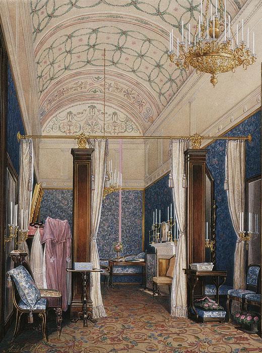 Empress Alexandra Feodorovna's dressing room