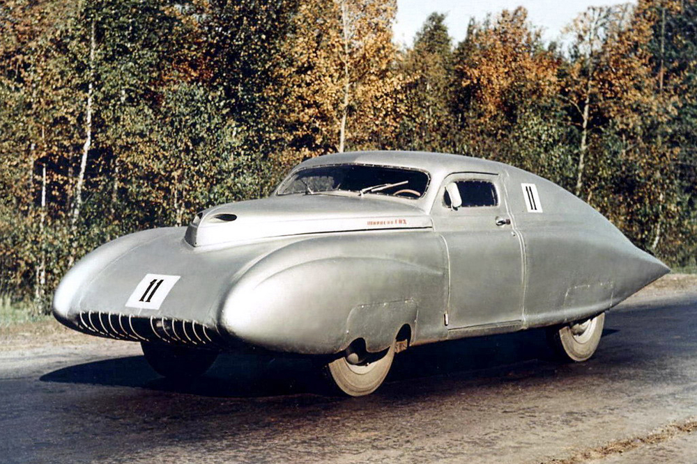 Pobeda-Sport. In total, Podeda-Sport vehicles won three USSR championships (1950, 1955, 1956). It was the first truly successful Soviet sports car. However, that is not surprising when you consider that it was designed by an aeronautical engineer. The car is of interest both as an experimental automotive design by an aircraft constructor and as an example of the peaceful use of military technology.