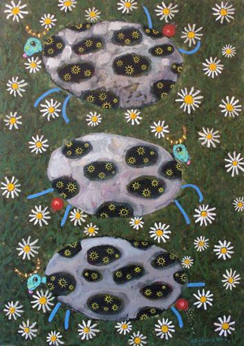 亚历山大•苏里科夫的作品反映俄罗斯生活现实,具有深刻的,有时甚至是讽刺的意味。毕业于俄罗斯艺术学院的亚历山大•苏里科夫在俄罗斯艺术大师行列中占有一席之地。//《奶牛》亚历山大•苏里科夫作