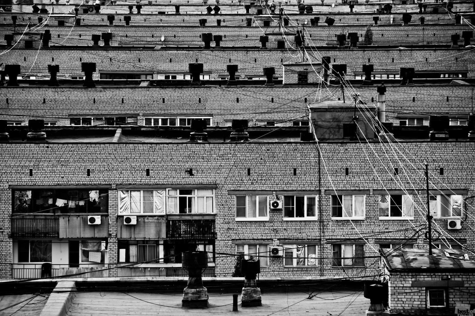 But most people still live in identical concrete boxes // The Volgograd Ghetto