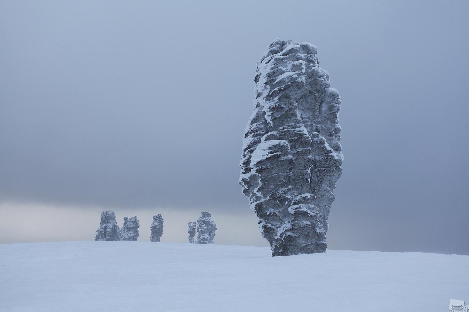 Sub-Arctic Urals, Manpupupner Plateau, Komi Republic
