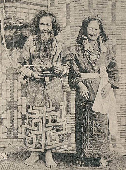 The Ainu inhabited the island of Hokkaido (the second largest island of Japan), as well as parts of Eastern Russia: the southern half of Sakhalin, the Kuril Islands, the bottom third of the Kamchatka Peninsula, and the lower reaches of the Amur.
