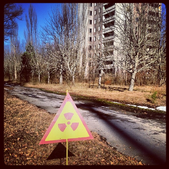 Although radiation levels here are high, you will not be able to pick up a significant dose during the stay.
