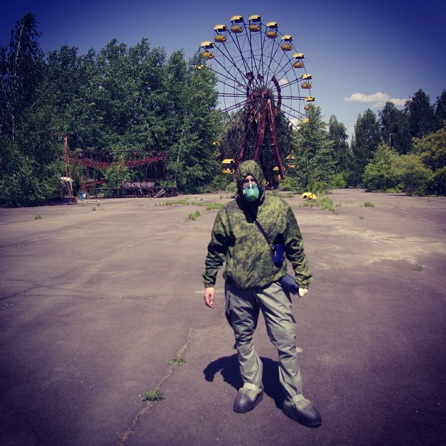 A lot of people and tour agencies offer tours to Pripyat, the town that was built up next to the Chernobyl Nuclear Power Plant in 1970.