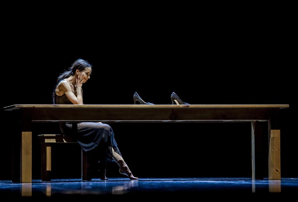 A lot of people come to the theater for the first time when they are in their 40s and completely fall in love. Some even become balletomanes; that has happened in front of me many times. You never know how and whether life will bring you to the theater. // 'Woman in the Room' by Carolyn Carlson