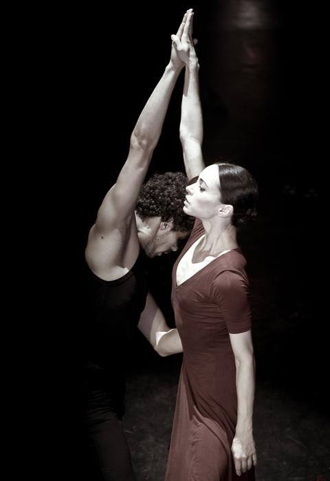 I have been very lucky with partners. I've always known that the right partner is very important. It's a real gift in a dancer's career, when your diverse nature has a chance to come out. And that's when you fall in love with your partner both, as a dancer and a person. //'Dialogue' by John Neumeier