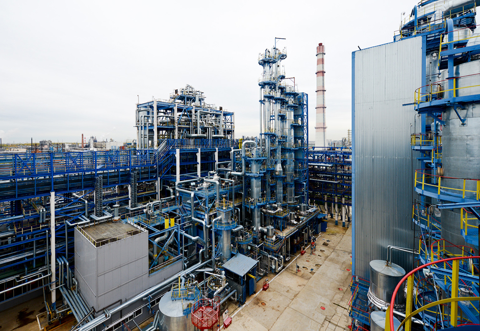 Construction of the factory began in 1959. Its first products (acetone and phenol) were released on July 13,1963.