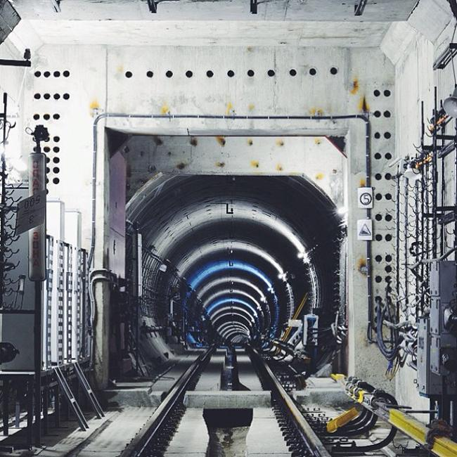 The Moscow Metro's Lyublinskaya line currently under construction.